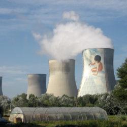 Centrale nucléaire de Cruas (département de l'Ardèche, France)
