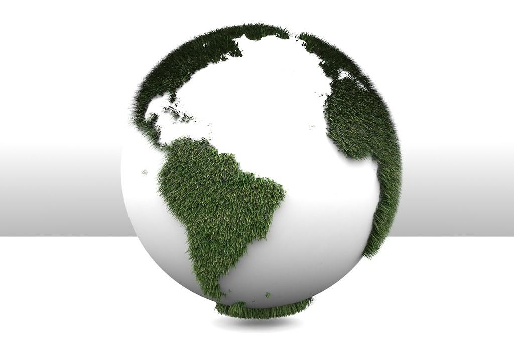 3D Green Planet